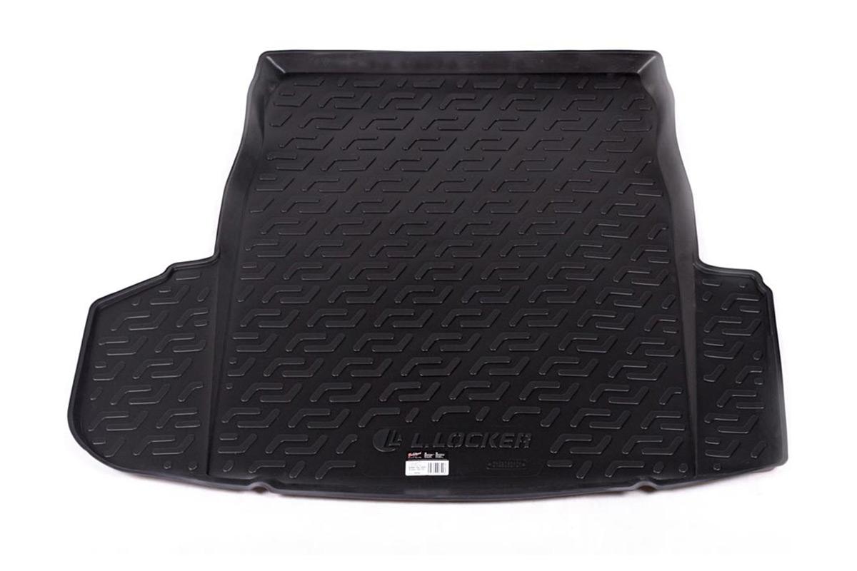 Коврик в багажник L.Locker, для BMW 5er (E60) sd (02-10)0129050101Коврик L.Locker производится индивидуально для каждой модели автомобиля из современного и экологически чистого материала. Изделие точно повторяют геометрию пола автомобиля, имеет высокий борт, обладает повышенной износоустойчивостью, антискользящими свойствами, лишен резкого запаха и сохраняет свои потребительские свойства в широком диапазоне температур (от -50°С до +80°С).