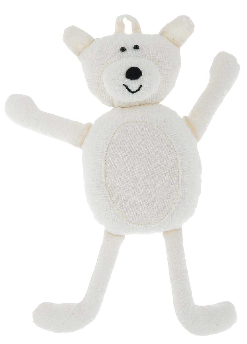 Основа для декора RTO Doudou. Медвежонок, 21 х 23 х 4 смST-35Основа RTO Doudou. Медвежонок предназначена для декорирования. Изделие выполнено из 100% хлопка, наполнитель - полиэстер. Игрушку можно раскрасить, сделать декупаж на ткани, расшить бисером или пайетками - и получится отличный талисман, который можно подарить другу или оставить себе!