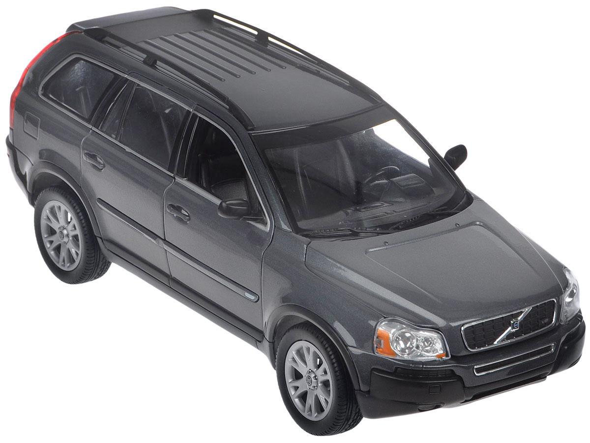 Welly Модель автомобиля Volvo XС9012549Модель автомобиля Volvo XС90 - миниатюрная копия настоящего авто Volvo XС90 в масштабе 1:18. Стильная модель привлечет к себе внимание не только детей, но и взрослых. Модель оснащена колесами из мягкой резины, передние двери автомобиля, багажник и капот открываются. Внутри детально проработаны элементы салона. Такая модель станет отличным подарком не только любителю автомобилей, но и человеку, ценящему оригинальность и изысканность, а качество исполнения представит такой подарок в самом лучшем свете.
