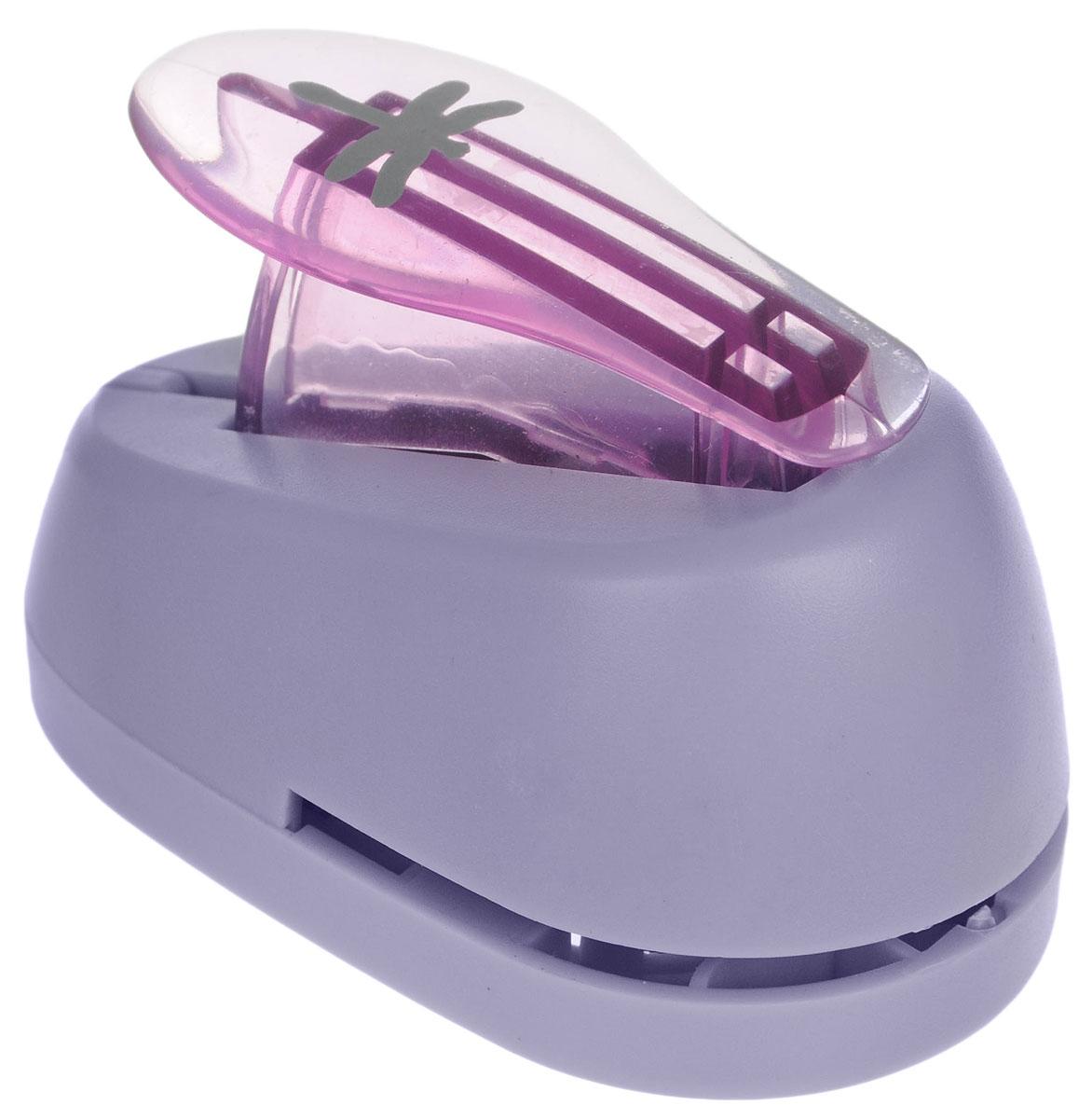 Hobbyboom Дырокол фигурный Стрекоза цвет фиолетовый 1,8 см