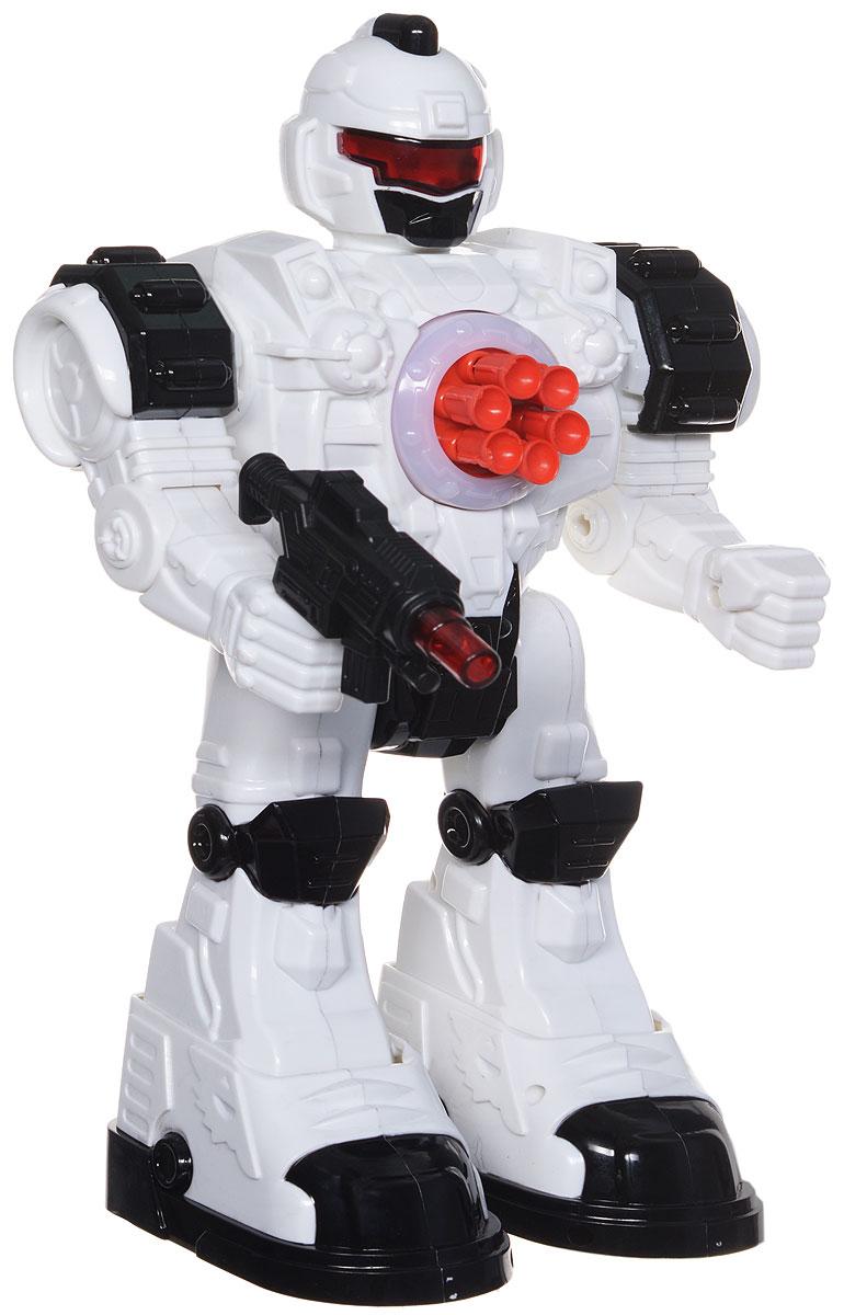 ABtoys Робот на инфракрасном управлении Снайпер цвет белый