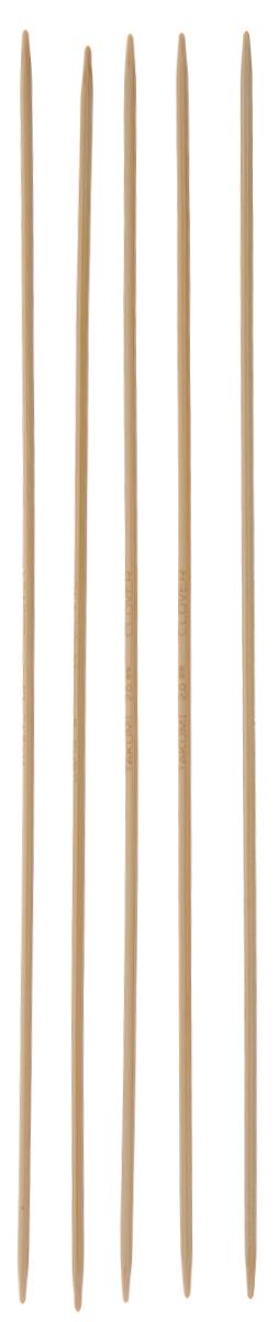 Спицы чулочные Clover, бамбуковые, прямые, диаметр 2 мм, длина 20 см, 5 шт3015Спицы для вязания Clover изготовлены из натурального бамбука. Спицы прочные, легкие, гладкие, удобные в использовании. Деревянные спицы предназначены для вязания чулок, шапочек, варежек, носков и других вещей. Вы сможете вязать для себя и делать подарки друзьям. Рукоделие всегда считалось изысканным, благородным делом. Работа, сделанная своими руками, долго будет радовать вас и ваших близких. Диаметр: 2 мм. Длина: 20 см. Комплектация: 5 шт.