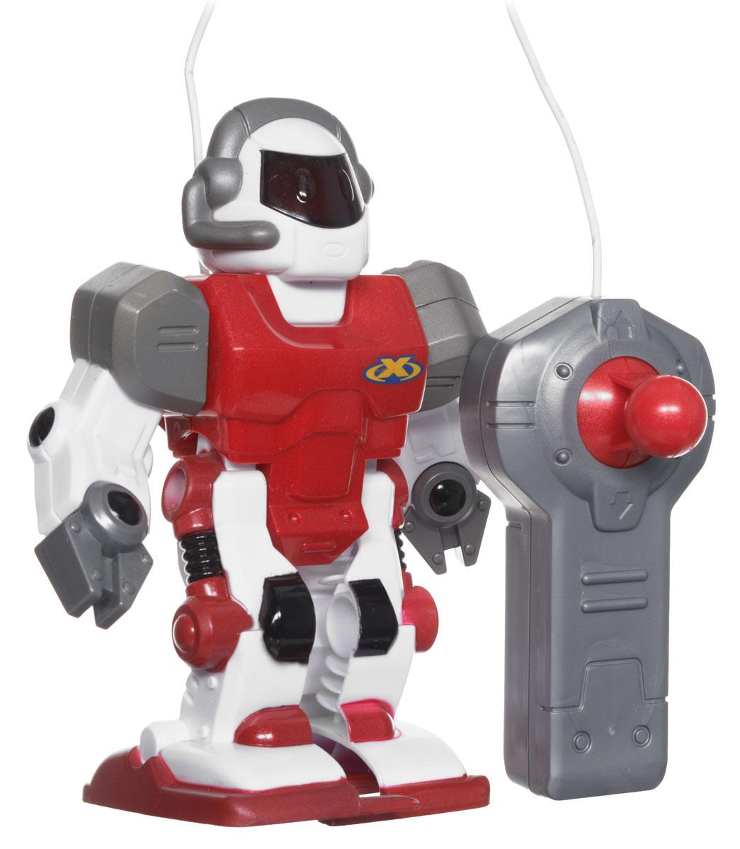 Keenway Робот на дистанционном управлении13402Keenway Игрушка на дистанционном управлении Робот обязательно понравится юным любителям техники. У робота движущиеся руки, ноги и голова, есть подсветка глаз. К игрушке прилагается удобный детский пульт, с помощью которого можно задавать направление движения умного робота. Он с удовольствием будет выполнять команды вашего крохи, двигаясь то вперед, то назад. Материал, из которого изготовлена игрушка от Keenway, абсолютно безопасен для ребенка, не содержит вредных химических соединений. Рекомендуется докупить 2 батарейки напряжением 1,5V АА (товар комплектуется демонстрационными).
