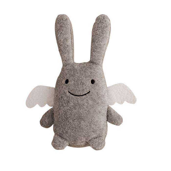 Trousselier Мягкая игрушка Зайка с погремушкой цвет серый 12 смV1080 08