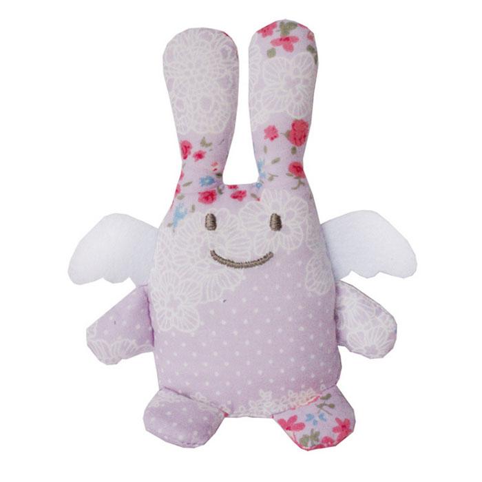 Trousselier Мягкая игрушка Зайка с погремушкой цвет сиреневый 12 смV1080 99