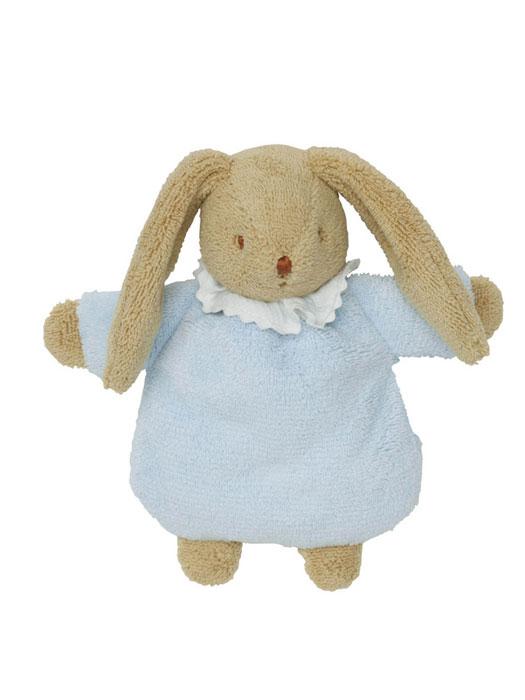 Trousselier Мягкая игрушка Зайка-погремушка цвет голубой 19 смV6341 02