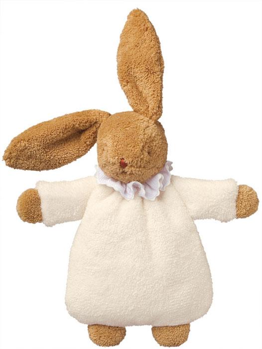 Trousselier Мягкая игрушка Зайка-погремушка цвет слоновая кость 19 смV6341 13