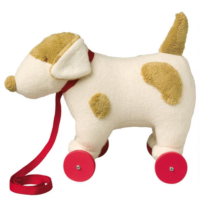 Trousselier Мягкая игрушка Собака на колесиках с поводком 32 смV4001 42