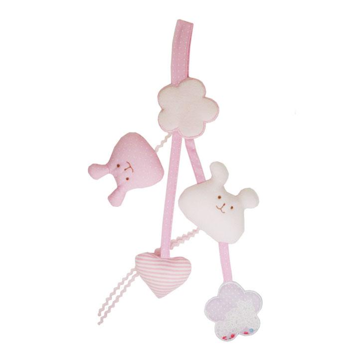 Trousselier Погремушка-подвеска Toy цвет розовыйV1352 72