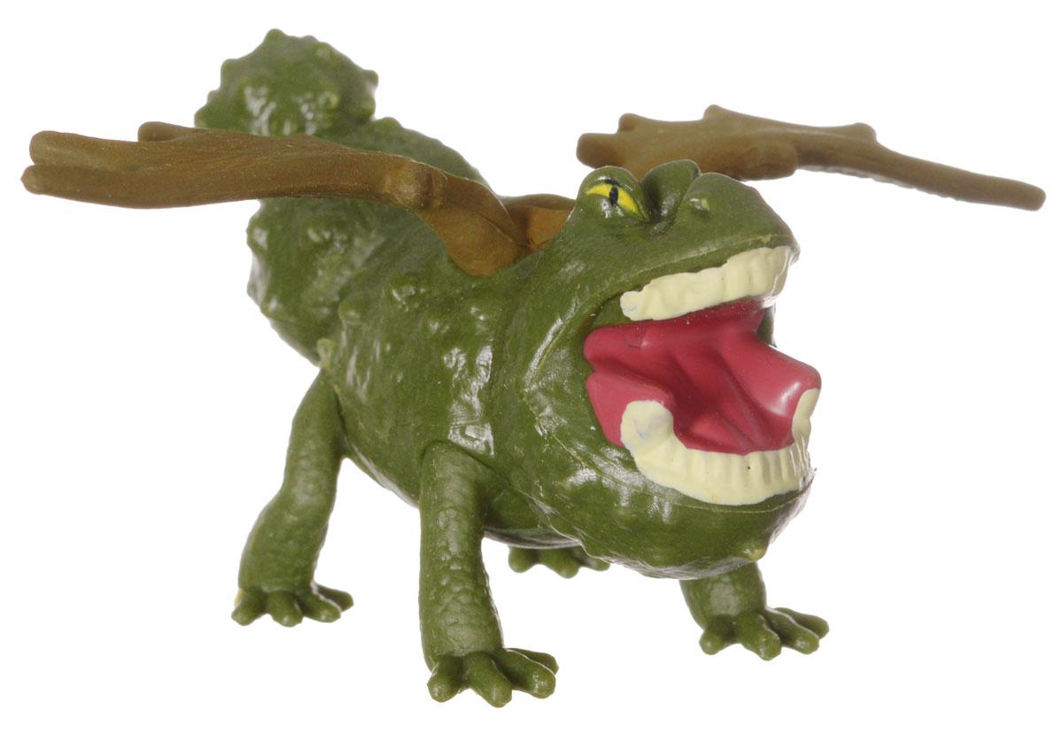 Мини-фигурка Dragons Meatlug. 66562_2006528766562_20065287Мини-фигурка Dragons Meatlug приведет в восторг вашего ребенка. Она выполнена из яркого пластика в виде Громмеля, дракона Рыбьенога из популярного мультфильма Как приручить дракона 2. Громмель, или Сарделька, имеет зеленый с коричневым окрас и отличается большим хвостом в форме булавы, пуленепробиваемой броней и массивной челюстью. Благодаря небольшому размеру ребенок сможет брать дракончика с собой на прогулку или в гости. С такой фигуркой ваш ребенок с удовольствием окунется в гущи событий мультфильма, будет проигрывать любимые сцены или придумывать свои истории!