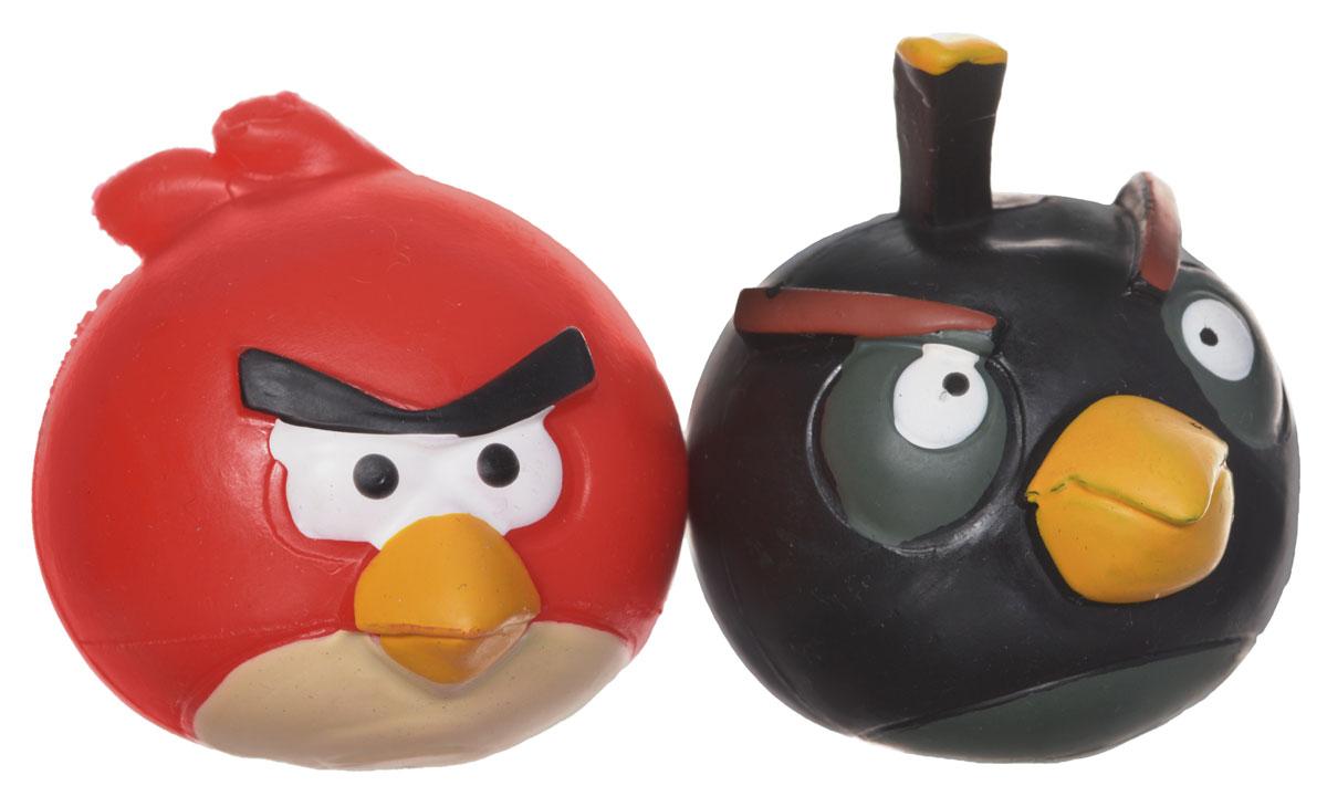 Angry Birds Игрушка-мялка цвет красный черный 2 шт50281-0000012-01_красный, черныйИгрушка-мялка Angry Birds - это антистрессовая игрушка-мялка, выполненная в виде персонажа всеми любимой игры Angry Birds. Игрушка сделана из мягкой резины, внутри которой находится жидкий наполнитель, благодаря чему она легко изменяет форму и структуру при приложении к ней физической силы, а затем принимает первоначальный вид. В набор входят 2 птички-мялки.