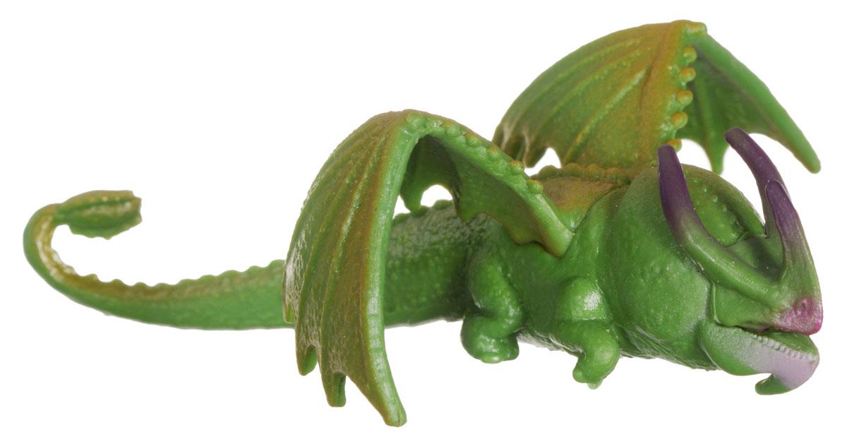 Мини-фигурка Dragons Skull Сrusher. 66562_2006768966562_20067689Мини-фигурка Dragons Skull Crusher приведет в восторг вашего ребенка. Она выполнена из яркого пластика в виде дракона из популярного мультфильма Как приручить дракона 2. Дракон имеет зеленый с коричневым окрас и отличается небольшими крыльями и массивным телом. Благодаря небольшому размеру ребенок сможет брать дракончика с собой на прогулку или в гости. С такой фигуркой ваш ребенок окунется в гущи событий мультфильма, будет проигрывать любимые сцены или придумывать свои истории!