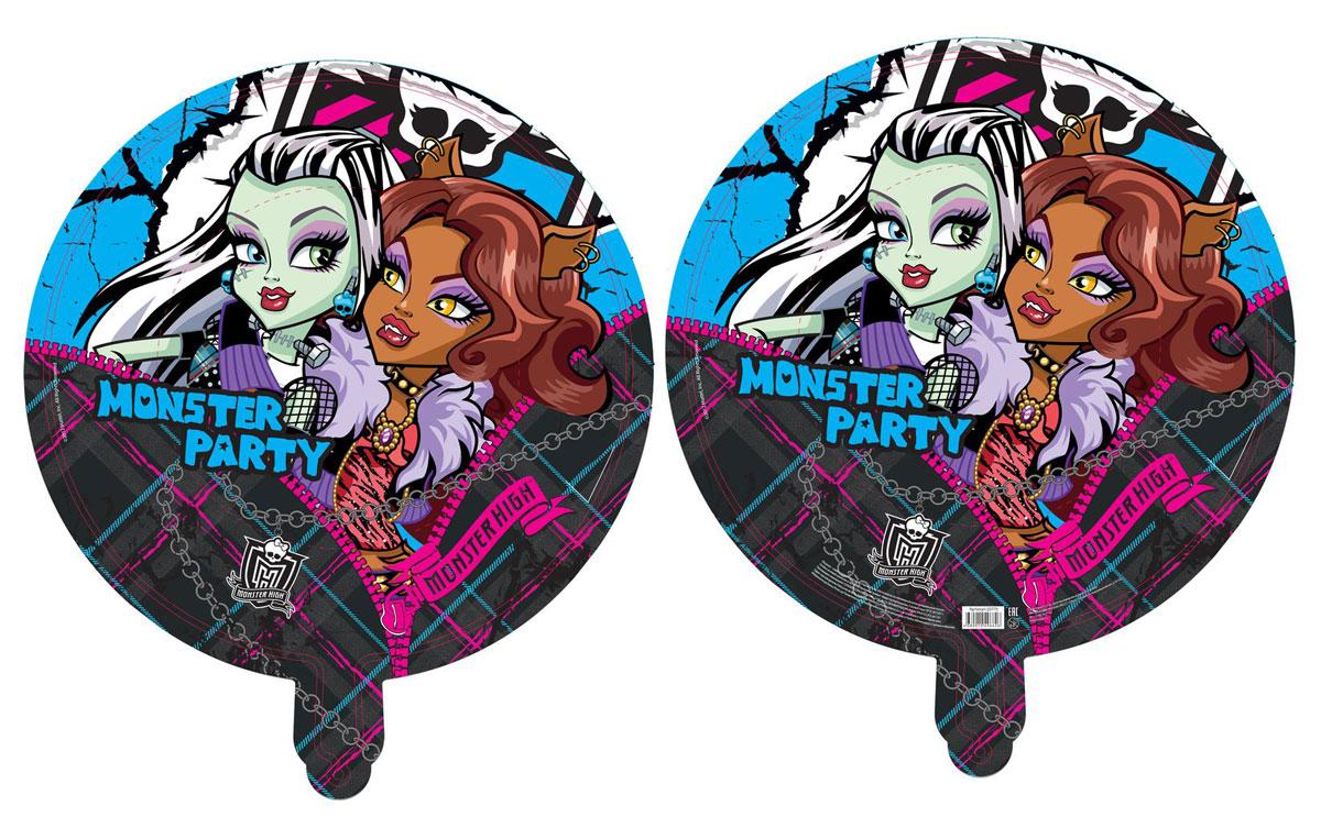Monster High Шар фольгированный Вечеринка монстров