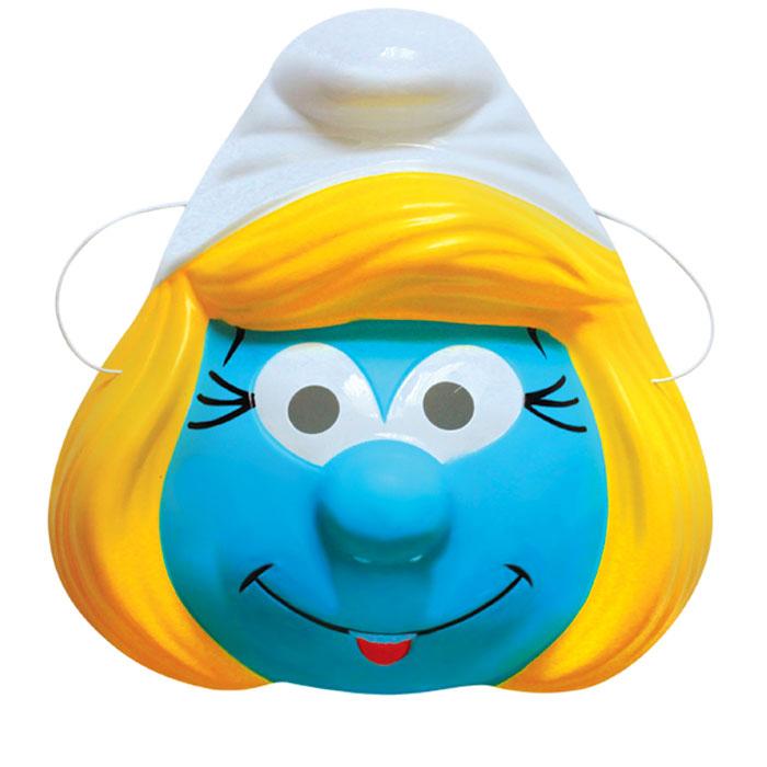 The Smurfs Маска карнавальная Смурфетта21523Детская маска с изображением любимого персонажа – это необходимый атрибут детского утренника или карнавала, который добавит празднику радости и веселья. Маска Смурфетта ТМ Смурфики изготовлена из PVC и имеет размер 21х22х8,5 см. Товар сертифицирован.