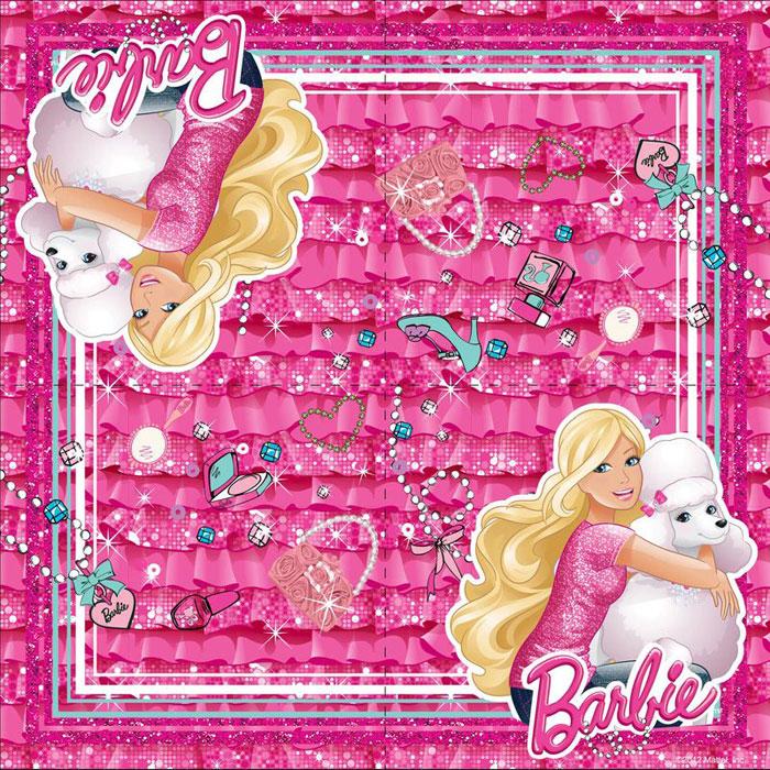Barbie Салфетки двухслойные 20 шт23714Все дети обожают праздники, ведь это время, когда можно полакомиться особенно вкусным угощением. А какое же застолье без ярких, красивых салфеток? Они весело украсят праздничный стол и поднимут настроение всем участникам торжества. Бумажные двухслойные салфетки Barbie имеют размер 33 х 33 см. В упаковке 20 салфеток, декорированных ярким принтом.