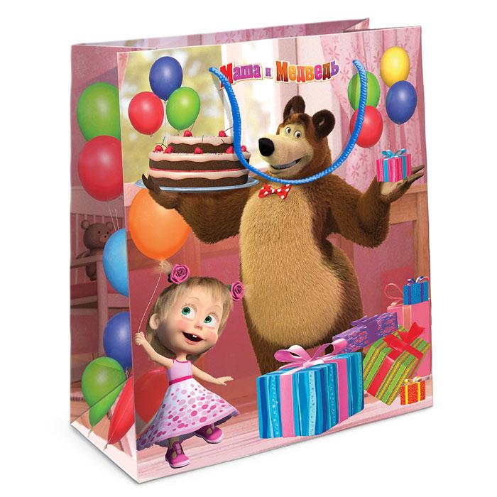 Маша и Медведь Пакет подарочный Приключения Маши