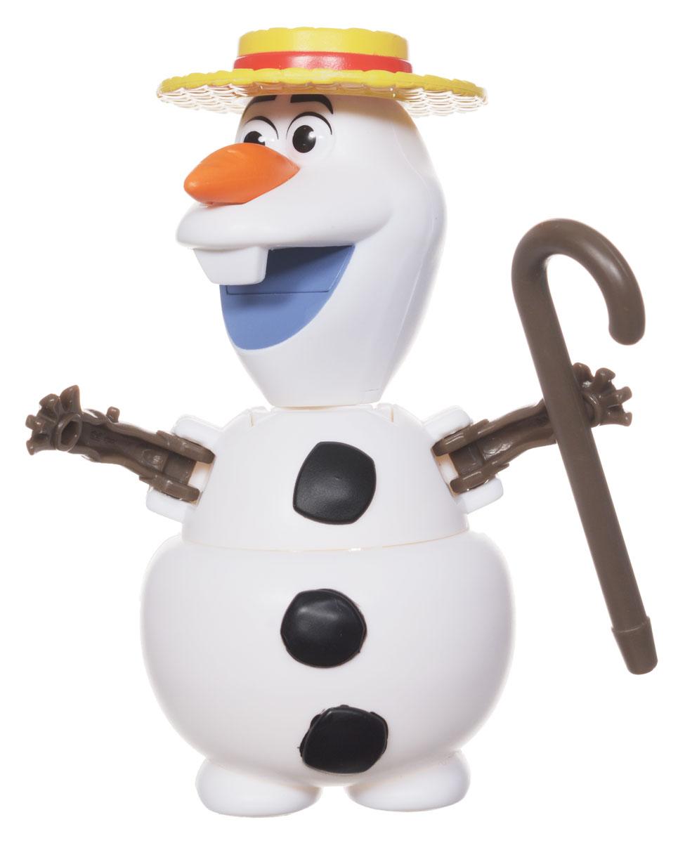 Игрушка EggStars Яйцо-трансформер: Олаф84412Оригинальная игрушка EggStars Яйцо-трансформер: Олаф надолго займет внимание вашего ребенка. Игрушка выполнена из прочного пластика в виде снеговика Олафа - персонажа мультфильма Frozen (Холодное сердце). Нос у снеговика съемный. Олаф легко трансформируется в яйцо и обратно. Также в комплекте шляпа и трость. Эта игрушка непременно понравится вашему малышу. Порадуйте его таким замечательным подарком!