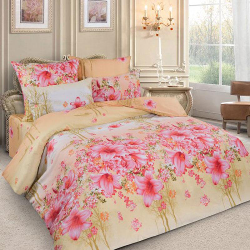Комплект белья Letto Цветочная симфония, семейный, наволочки 70x70, цвет: розовый, желтыйPL24-7/семейныйКомплект постельного белья Letto Цветочная симфония выполнен из ткани перкаль (100% натуральный хлопок). Комплект состоит из двух пододеяльников, простыни и двух наволочек. Постельное белье оформлено цветочным рисунком и имеет изысканный внешний вид. Пододеяльник снабжен молнией. Гладкая структура делает ткань приятной на ощупь, мягкой и нежной, при этом она прочная и хорошо сохраняет форму. Благодаря такому комплекту постельного белья вы сможете создать атмосферу роскоши и романтики в вашей спальне.