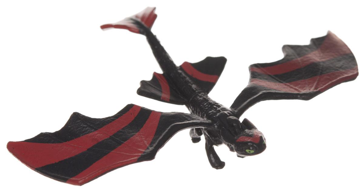 Мини-фигурка Dragons Toothless. 66562_2006443166562_20064431Мини-фигурка Dragons Toothless приведет в восторг вашего ребенка. Она выполнена из яркого пластика в виде Беззубика, дракона Иккинга из популярного мультфильма Как приручить дракона 2. Беззубик, или Ночная Фурия, имеет черный с красным окрас и отличается изогнутым хвостом, огромными крыльями и ярко-желтыми глазами. Благодаря небольшому размеру ребенок сможет брать дракончика с собой на прогулку или в гости. С такой фигуркой ваш ребенок с удовольствием окунется в гущи событий мультфильма, будет проигрывать любимые сцены или придумывать свои истории!