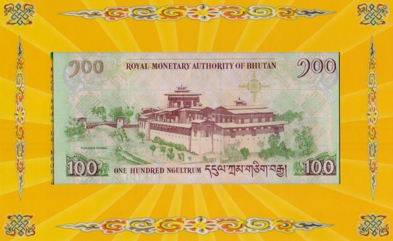 Памятная банкнота номиналом 100 нгултрумов