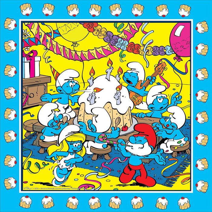The Smurfs Салфетки двухслойные 20 шт ( 23717 )