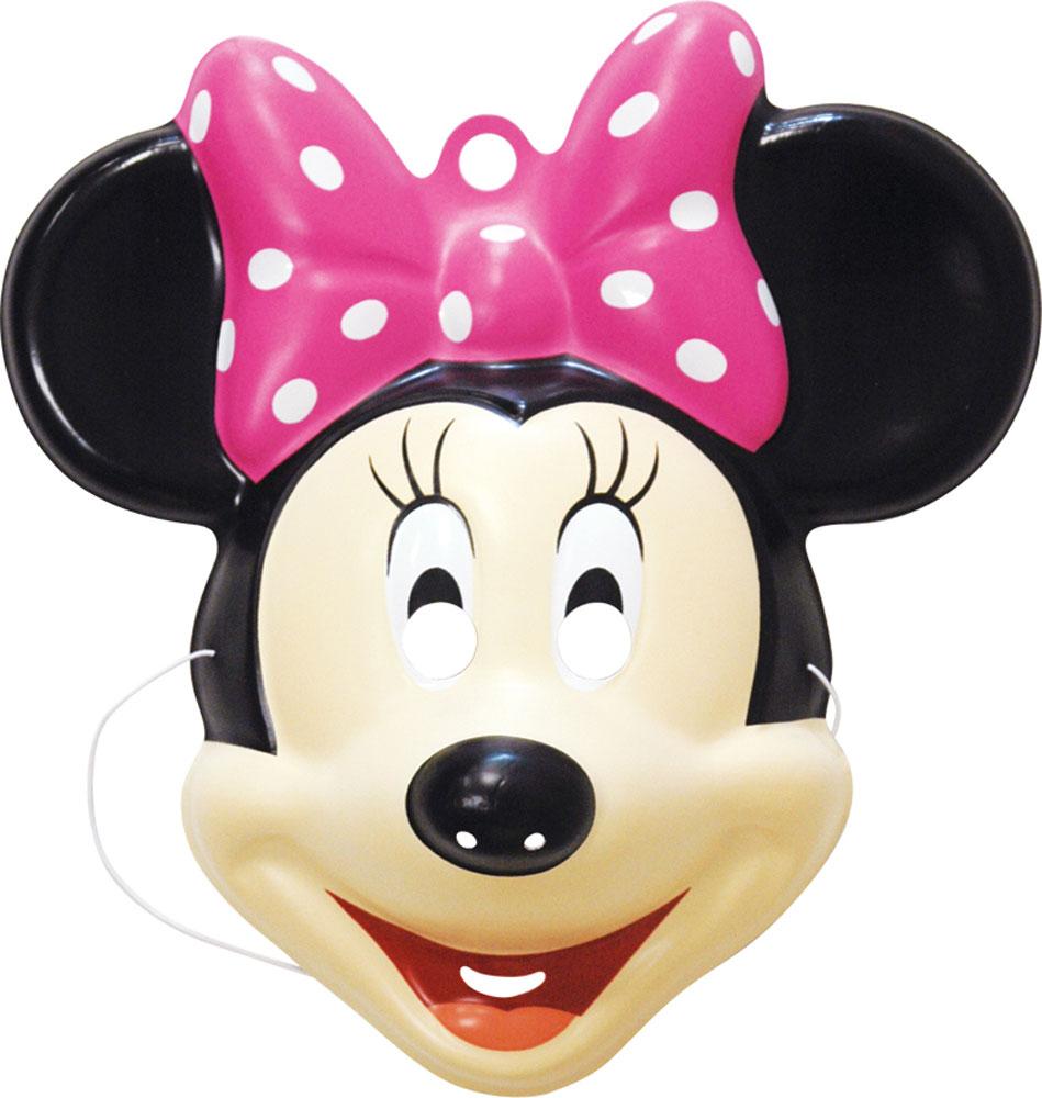 Disney Минни Маска карнавальная Минни Маус23777Отправляясь на детский праздник, почему бы не создать образ очаровательной Минни Маус? Для этого пригодится маска, которую можно использовать даже в качестве единственного карнавального элемента в одежде малышки. Надев ее, малютка легко перевоплощается в милую мышку. Детская маска Минни Маус ТМ Disney Минни изготовлена из PVC и имеет размер 25 х 7,5 х 27,5 см.