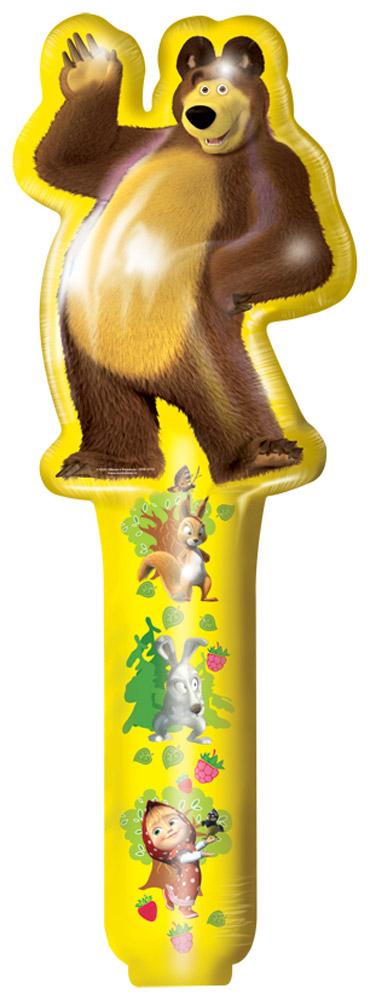Маша и Медведь Шар фольгированный Медведь24519Яркий шарик с изображением веселого Миши украсит любой детский праздник и станет прекрасной игрушкой для малыша. Фигурный фольгированный шар Медведь ТМ Маша и Медведь имеет высоту 66 см. Изделие поставляется не надутым. Для надувки не требуется гелий.