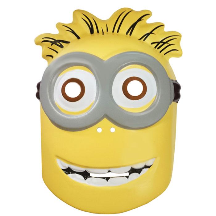 Universal Миньоны Маска карнавальная28224Маска, изображающая забавного Миньона из мультфильма Гадкий Я, замечательно украсит карнавальный костюм вашего малыша. Ее можно использовать даже в качестве единственного карнавального элемента в одежде: надев ее, юный участник костюмированного представления легко перевоплощается в любимого персонажа. Маска изготовлена из PVC и имеет размер 170х230х2 мм. Товар сертифицирован.