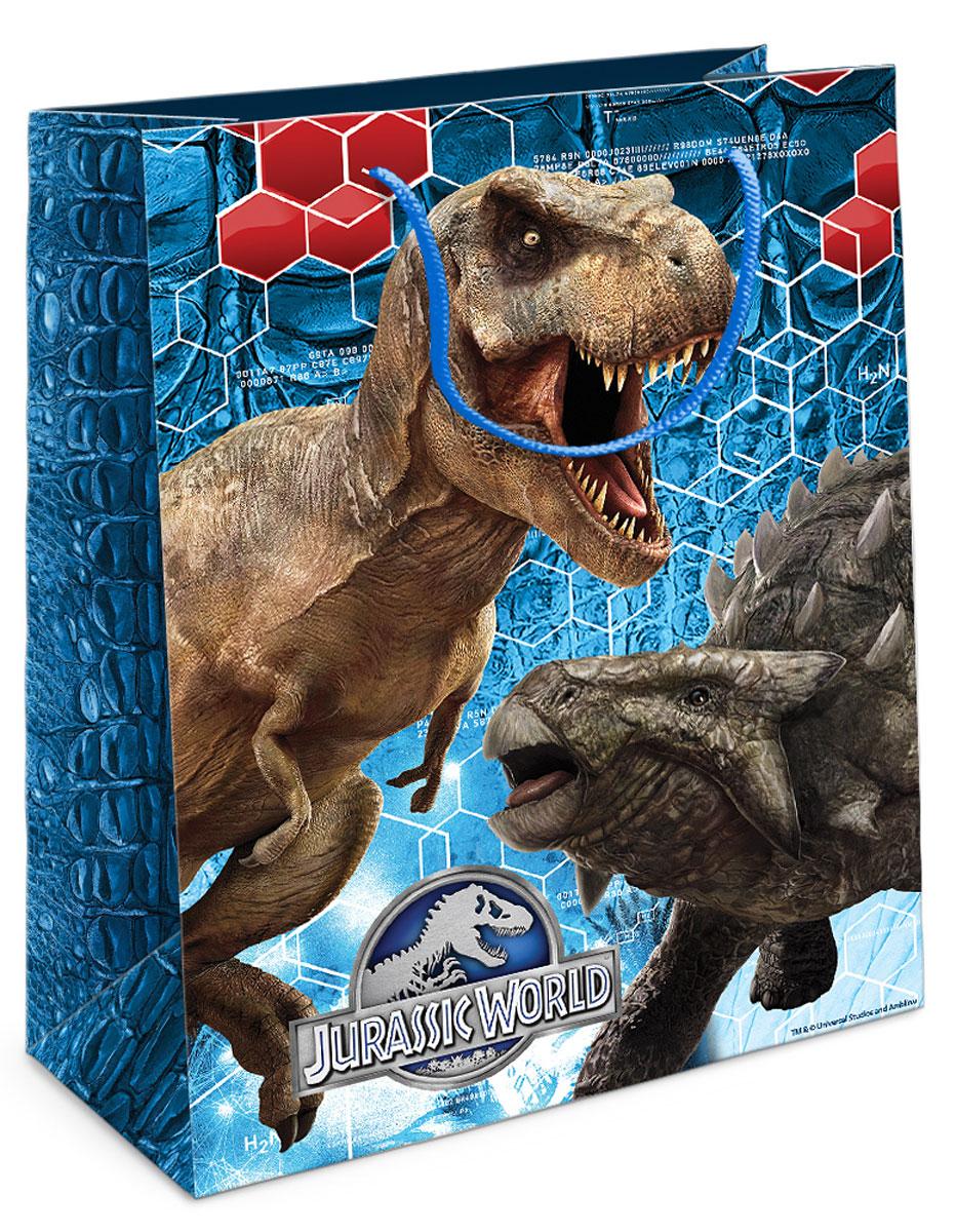 Universal Парк Юрского периода Пакет подарочный Тираннозавр Рекс 23х18х10 см29998Приобрести интересный подарок для ребенка – это только часть задачи. Не менее важно его красиво упаковать! Самым простым, практичным и при этом очень красивым видом упаковки является подарочный пакет – особенно с любимыми героями малыша. Бумажный пакет Тираннозавр Рекс с динозавром из фильма Парк Юрского периода поможет эффектно украсить ваш подарок. Размер бумажного подарочного пакета: 23х18х10 см. В ассортименте вы можете найти такой же пакет размером 35х25х9 см.