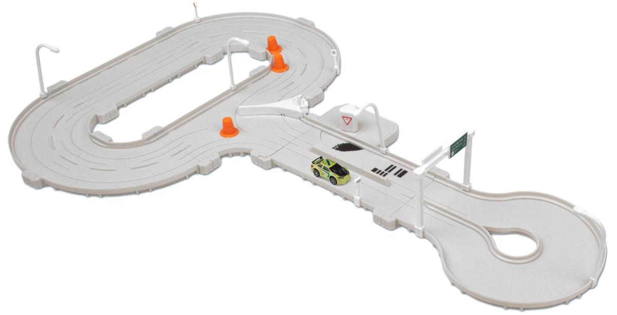 HexBug Гараж с машинкой Тагамото трасса640-2418Трек Трасса Tagamoto HEXBUG 640-2418 включает маленькие машинки с интеллектуальной начинкой и трек, на который можно нанести прилагаемые наклейки со штрихкодами в любом порядке. Во время прохождения штрихкодов активируются уникальные функции машинок. Элементы трассы можно собирать в различных конфигурациях. Данная модель станет хорошим подарком для маленьких любителей гонок.