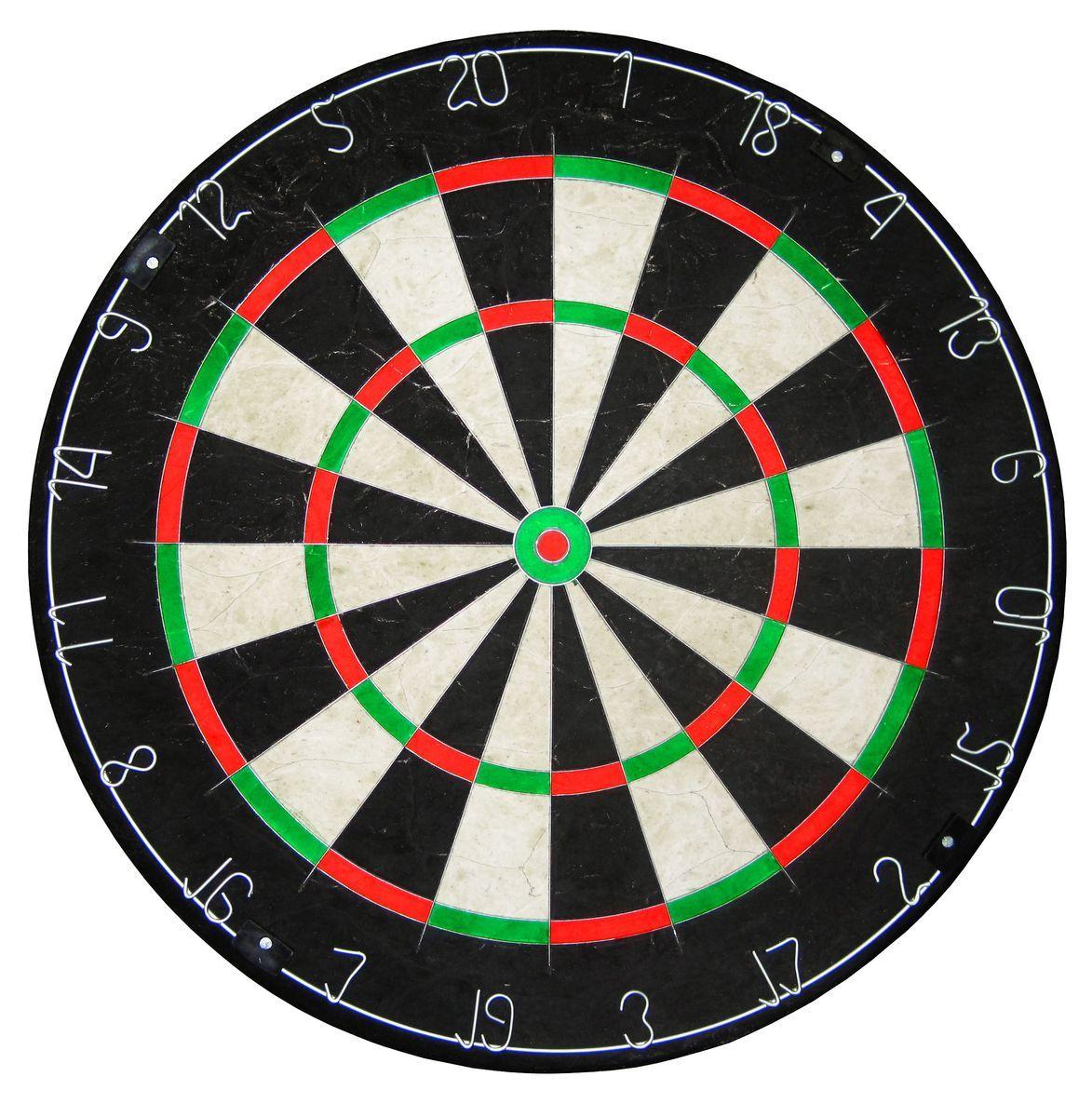 Мишень для игры в дартс Larsen, диаметр 45 смDG51001Мишень для игры в дартс Larsen DG51001, сизаль, диаметр 45см. Проволока разделяющая сектора – тонкая, прямоугольная, врезана в поверхность мишени.