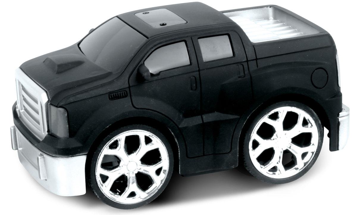 Bluesea Машинка на радиоуправлении Racing Car цвет черный5588-02Это один из представителей яркой серии машинок Racing Car. Она проста в управлении, двигается вперед, назад, влево и вправо. Для того, чтобы начать играть, достаточно просто докупить элементов питания для машинки и пульта управления.