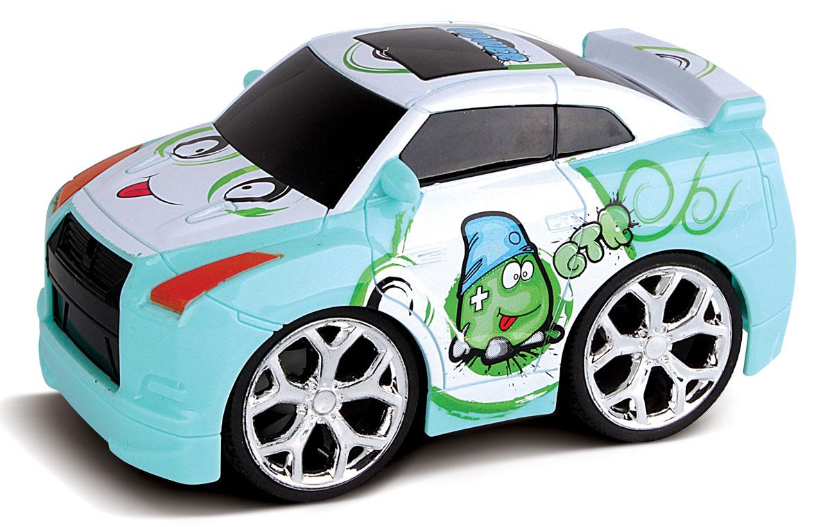 Bluesea Машинка на радиоуправлении Mini цвет голубой5588-36Это один из представителей яркой серии машинок Mini Car. Она проста в управлении, двигается вперед, назад, влево и вправо. Для того, чтобы начать играть, достаточно просто докупить элементов питания для машинки и пульта управления.