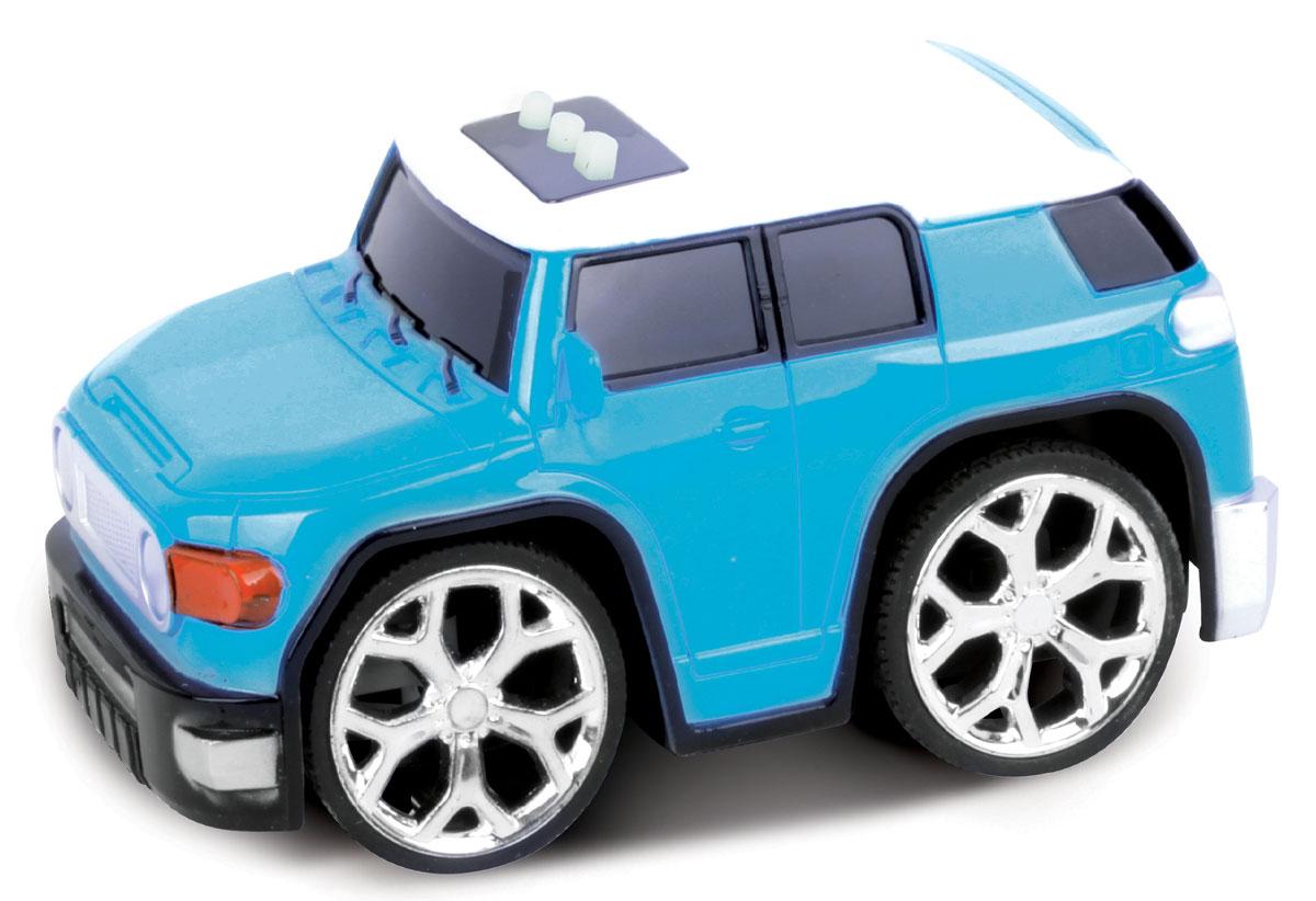 Bluesea Машинка со светом и звуком цвет синий5588-82ВНебольшая оригинальная интерактивная машинка! Три интерактивные функции: запуск двигателя, включение музыки и движение вперед. Для эксплуатации необходимо докупить элементы питания АА.
