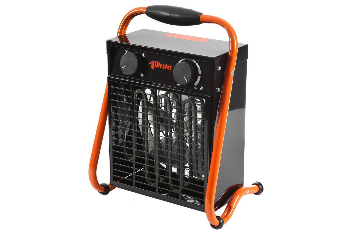 Тепловентилятор электрический Wester TB-3/6 1,5/3,0кВт95121Тепловентилятор электрический Wester TB-3/6 1,5/3,0кВт