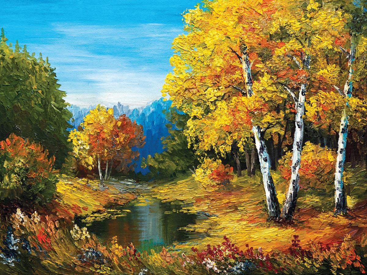 Картина на холсте Decoretto Art Осенние краски лета, 40 х 30 смCV 2013 ДекорКартина на холсте Decoretto Art Осенние краски лета красиво дополнит интерьер помещения. Экологически чистые краски и материалы, а также высококачественная печать делают изображение ярким и красочным. Стойкость к выцветанию обеспечивает долгий срок службы. Изделие имеет деревянный подрамник. С задней стороны расположено металлическое крепление для подвешивания картины на стену.