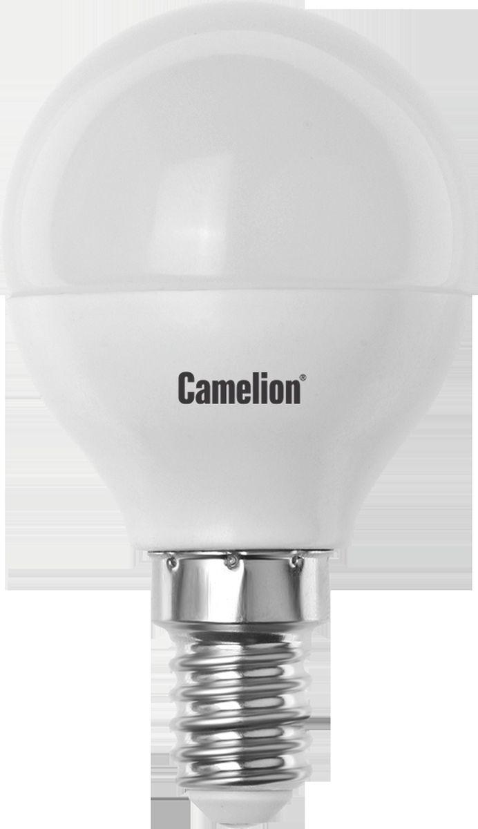 Лампа светодиодная Camelion, холодный свет, цоколь Е14, 3 W11375Светодиодная лампа, температура цвета 4500К (Холодный цвет), напряжение 220 Вольт