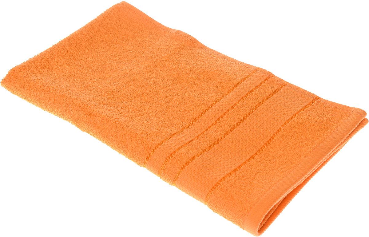 Полотенце махровое Aisha Home Textile Классика, цвет: оранжевый, 40 х 70 смУзТ-ПМ-111-08-27Полотенце Aisha Home Textile Классика выполнено из натуральной махровой ткани (100% хлопок). Изделие отлично впитывает влагу, быстро сохнет, сохраняет яркость цвета и не теряет форму даже после многократных стирок. Полотенце очень практично и неприхотливо в уходе. Оно станет достойным выбором для вас и приятным подарком для ваших близких.