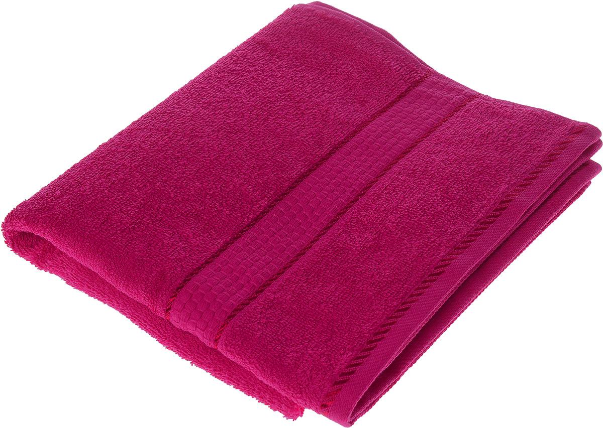 Полотенце махровое Osborn Textile Соты, цвет: темно-розовый, 50 х 90 смУзТ-ПМ-112-08-18Полотенце Osborn Textile Соты выполнено из натуральной махровой ткани (100% хлопок). Изделие отлично впитывает влагу, быстро сохнет, сохраняет яркость цвета и не теряет форму даже после многократных стирок. Полотенце очень практично и неприхотливо в уходе. Оно станет достойным выбором для вас и приятным подарком для ваших близких.