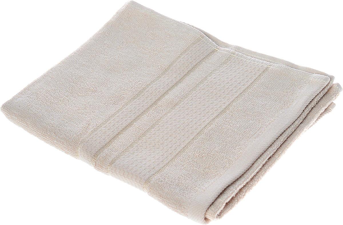 Полотенце махровое Aisha Home Textile Классика, цвет: бежевый, 40 х 70 смУзТ-ПМ-111-08-03Полотенце Aisha Home Textile Классика выполнено из натуральной махровой ткани (100% хлопок). Изделие отлично впитывает влагу, быстро сохнет, сохраняет яркость цвета и не теряет форму даже после многократных стирок. Полотенце очень практично и неприхотливо в уходе. Оно станет достойным выбором для вас и приятным подарком для ваших близких.