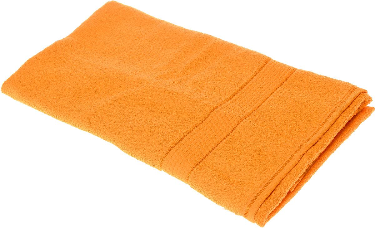 Полотенце махровое Aisha Home Textile Соты, цвет: оранжевый, 70 х 140 смУзТ-ПМ-114-08-27Полотенце Aisha Home Textile Соты выполнено из натуральной махровой ткани (100% хлопок). Изделие отлично впитывает влагу, быстро сохнет, сохраняет яркость цвета и не теряет форму даже после многократных стирок. Полотенце очень практично и неприхотливо в уходе. Оно создаст прекрасное настроение и украсит интерьер в ванной комнате.