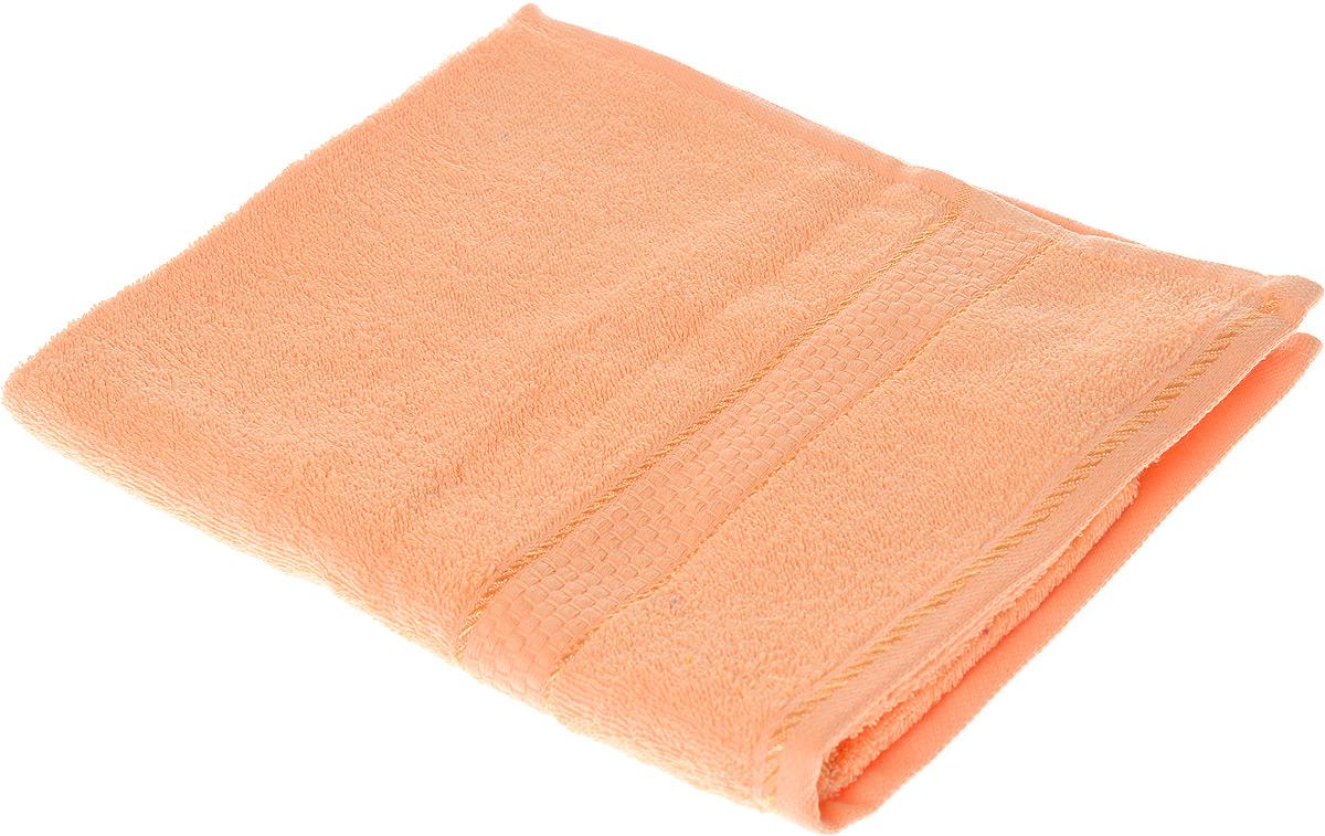 Полотенце махровое Aisha Home Textile Соты, цвет: персиковый, 50 х 90 смУзТ-ПМ-112-08-24Полотенце Aisha Home Textile Соты выполнено из натуральной махровой ткани (100% хлопок). Изделие отлично впитывает влагу, быстро сохнет, сохраняет яркость цвета и не теряет форму даже после многократных стирок. Полотенце очень практично и неприхотливо в уходе. Оно станет достойным выбором для вас и приятным подарком для ваших близких.