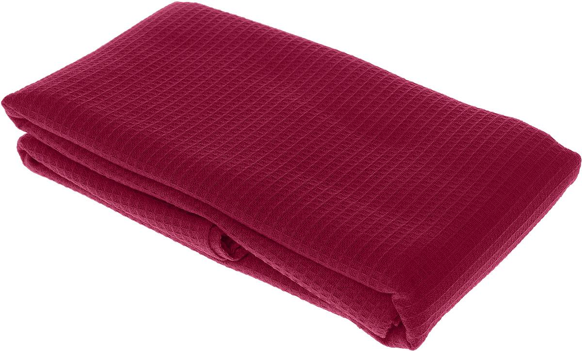 Полотенце-простыня для бани и сауны Банные штучки, цвет: бордовый, 80 х 150 см32070_ бордовыйВафельное полотенце-простыня для бани и сауны Банные штучки изготовлено из натурального хлопка. В парилке можно лежать на нем, после душа вытираться, а во время отдыха использовать как удобную накидку. Такое полотенце-простыня идеально подойдет каждому любителю бани и сауны.