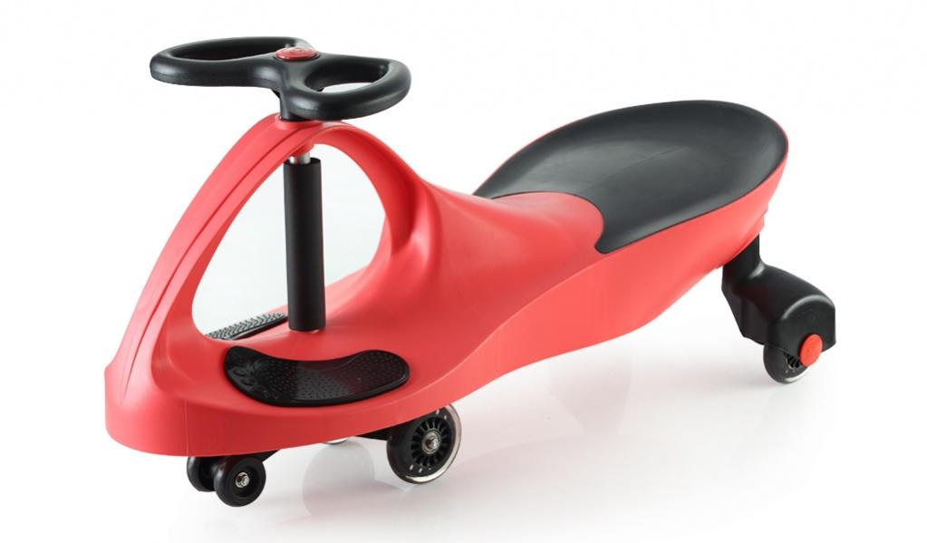 Bradex Каталка Бибикар с полиуретановыми колесами цвет красный DE 0043