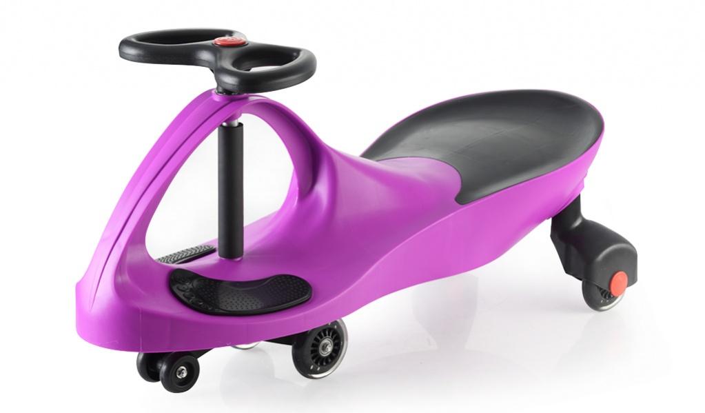 Bradex Каталка Бибикар с полиуретановыми колесами цвет фиолетовый
