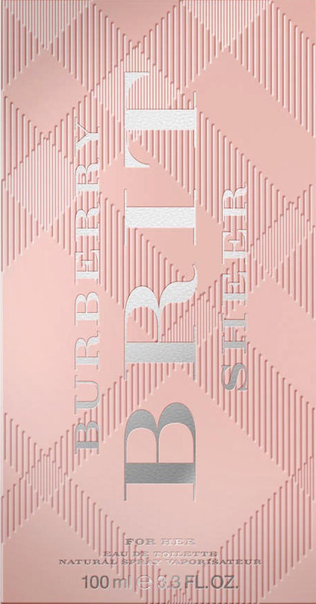Burberry Brit Sheer Woman Туалетная вода, 100 мл1728Автор аромата - Emilie Coppermann. Парфюм был разработан для воплощение юного и жизнерадостного настроения Burberry Brit, а также для того, чтобы подчеркнуть индивидуальность и редкую харизму женщины, для которой был создан этот аромат. Цветочно-фруктовая композиция очень нежная, веселая и свежая. Этот парфюм - воплощение молодого духа Burberry. Классификация аромата : Цветочные. Мускус, мандарин, древесина, груша, пион, ананас (листья), личи, юзу, душистый горошек, виноград, персик (цветок). Туалетная вода - один из самых популярных видов парфюмерной продукции. Туалетная вода содержит 4-10% парфюмерного экстракта. Главные достоинства данного типа продукции заключаются в доступной цене, разнообразии форматов (как правило, 30, 50, 75, 100 мл), удобстве использования (чаще всего - спрей). Идеальна для дневного использования. Товар сертифицирован.