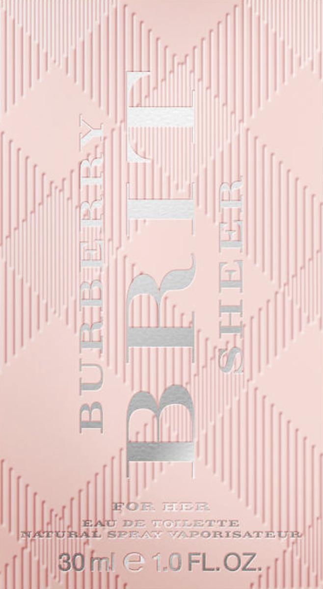 Burberry Brit Sheer Woman Туалетная вода, 30 мл1666Автор аромата - Emilie Coppermann. Парфюм был разработан для воплощение юного и жизнерадостного настроения Burberry Brit, а также для того, чтобы подчеркнуть индивидуальность и редкую харизму женщины, для которой был создан этот аромат. Цветочно-фруктовая композиция очень нежная, веселая и свежая. Этот парфюм - воплощение молодого духа Burberry. Классификация аромата : Цветочные. Мускус, мандарин, древесина, груша, пион, ананас (листья), личи, юзу, душистый горошек, виноград, персик (цветок). Туалетная вода - один из самых популярных видов парфюмерной продукции. Туалетная вода содержит 4-10% парфюмерного экстракта. Главные достоинства данного типа продукции заключаются в доступной цене, разнообразии форматов (как правило, 30, 50, 75, 100 мл), удобстве использования (чаще всего - спрей). Идеальна для дневного использования. Товар сертифицирован.