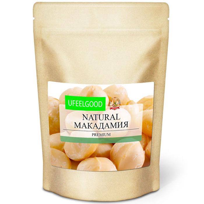 UFEELGOOD Natural Macadamia натуральный орех макадамия, 100 г134Регулярное употребление в пищу орехов макадамия оказывает положительное влияние на здоровье. Кроме общеукрепляющих свойств, они обладают лечебным эффектом, способствующим более легкому протеканию и скорейшему излечению отдельных заболеваний: мигрени, артрита и артроза, сердечно-сосудистых заболеваний болезней кожи (в т.ч. заживлению ожогов, сахарного диабета, общего авитаминоза, ангины, менингита. Отдельное достоинство макадамии – органическое масло, которое можно выдавить из ореха и использовать в качестве наружного средства. Добыча этого масла ведется в промышленных масштабах.