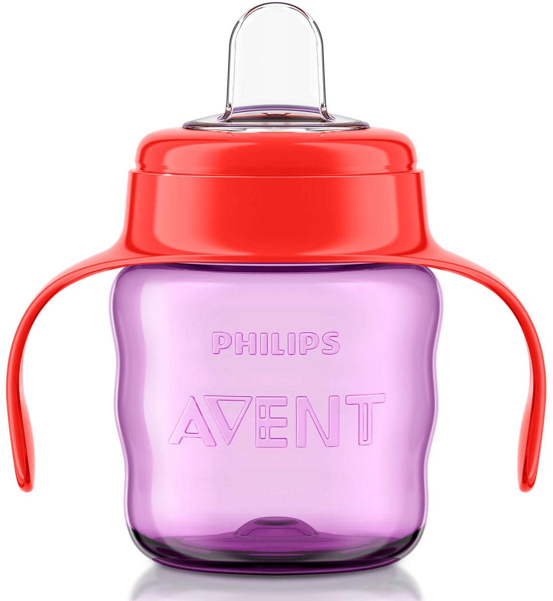 Philips Avent Чашка-поильник Comfort от 6 месяцев цвет фиолетовый красный 200 мл SCF551/00