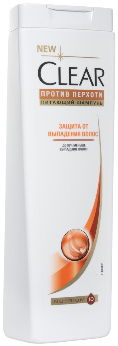Clear Шампунь Защита от выпадения волос 400 мл51750259Шампунь против перхоти Clear vita ABE Защита от выпадения с формулой Zinc Mineral Complex (комплекс соединений цинка) воздействует на поверхность кожи головы, эффективно удаляя перхоть. Активная система Cleartech, обогащенная витаминами, ухаживает и питает кожу головы и волосы изнутри. С шампунем Clear vita ABE Ваши волосы и кожа головы будут здоровыми и сильными без перхоти. Шампунь подходит для ежедневного применения. Протестировано дерматологами.